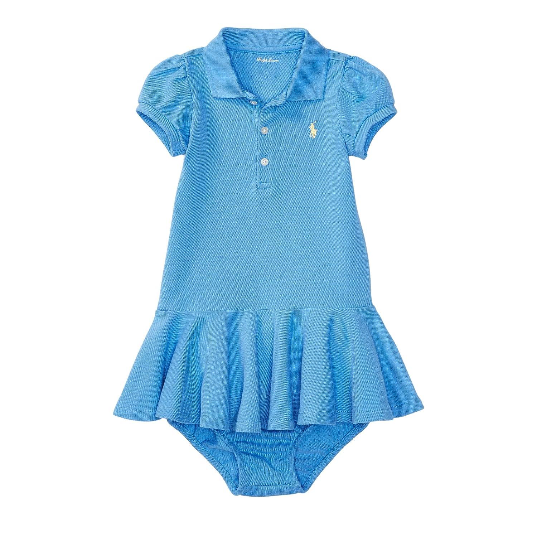 Amazon Ralph Lauren Baby Girls Polka Dot Polo Dress & Bloomer