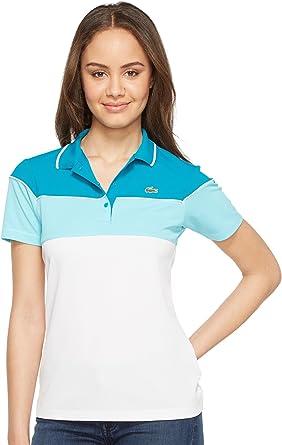 Lacoste Para mujer PF1517 Camisa polo - Azul - Lacoste 44 ...