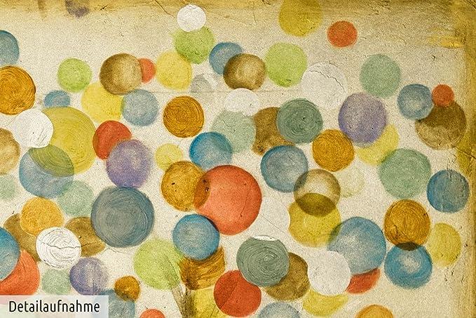 Kunstloft® dipinto in acrilico foglie dautunno colorate in
