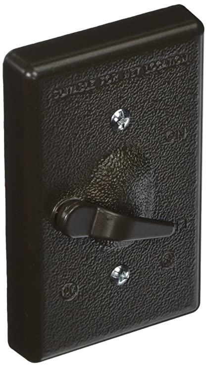 Hubbell Bell 5121 2 1 Gang Vertical Lever Switch Weatherproof Cover
