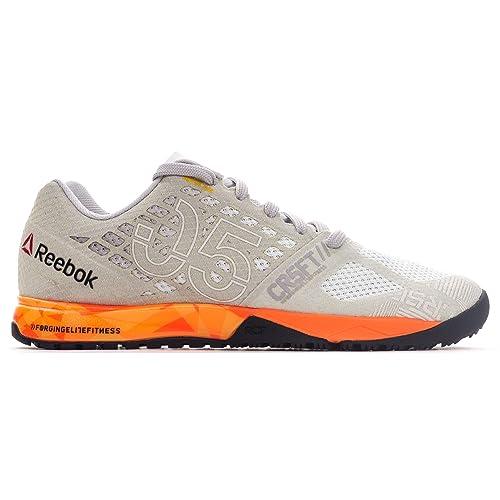 Reebok Zapatillas de Lona para mujer Peach/Grey: Amazon.es: Zapatos y complementos