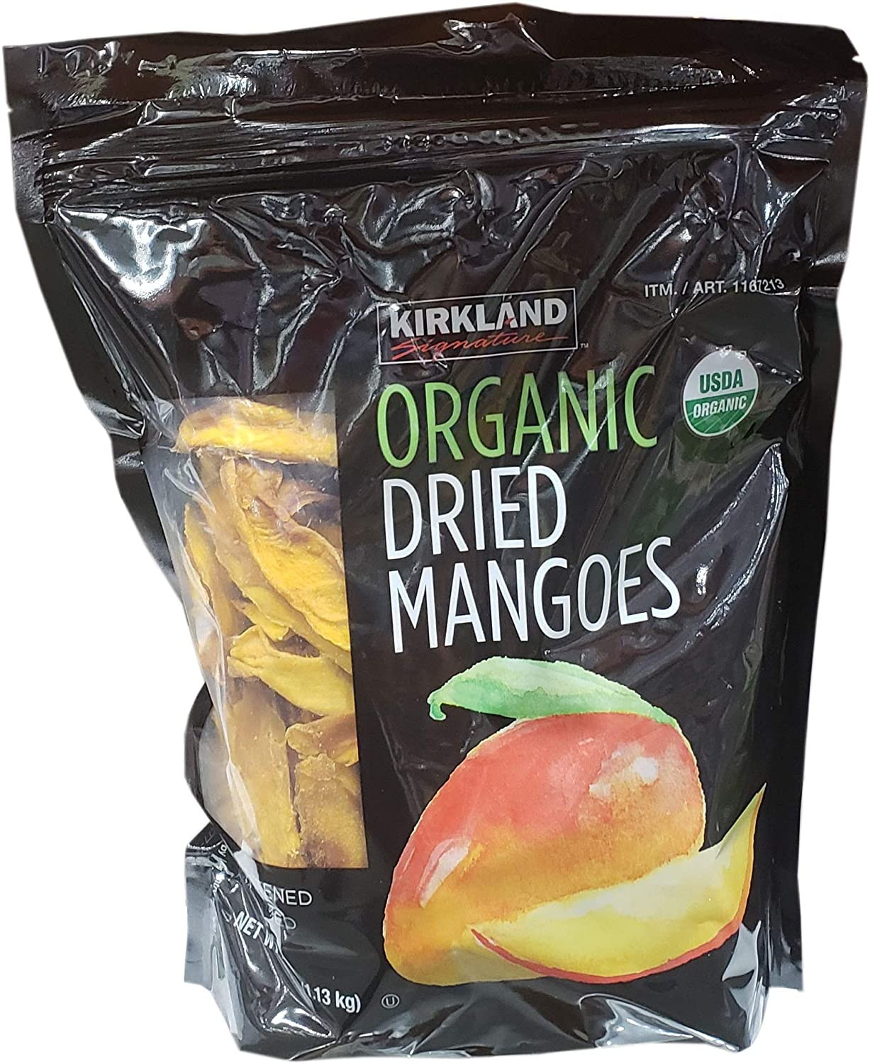 Kirkland Signature Organic Dried Mango, 40 Ounce