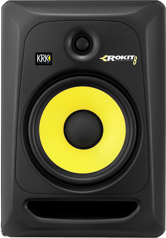 KRK RP8 G3 EU 8inch Powered Studio Monitor Speakers – Pair