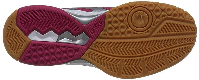 Amazon.com   ASICS Womens Gel-Rocket 8, Bright Rose/Silver/Burgundy, 8 B(M) US   Tennis & Racquet Sports