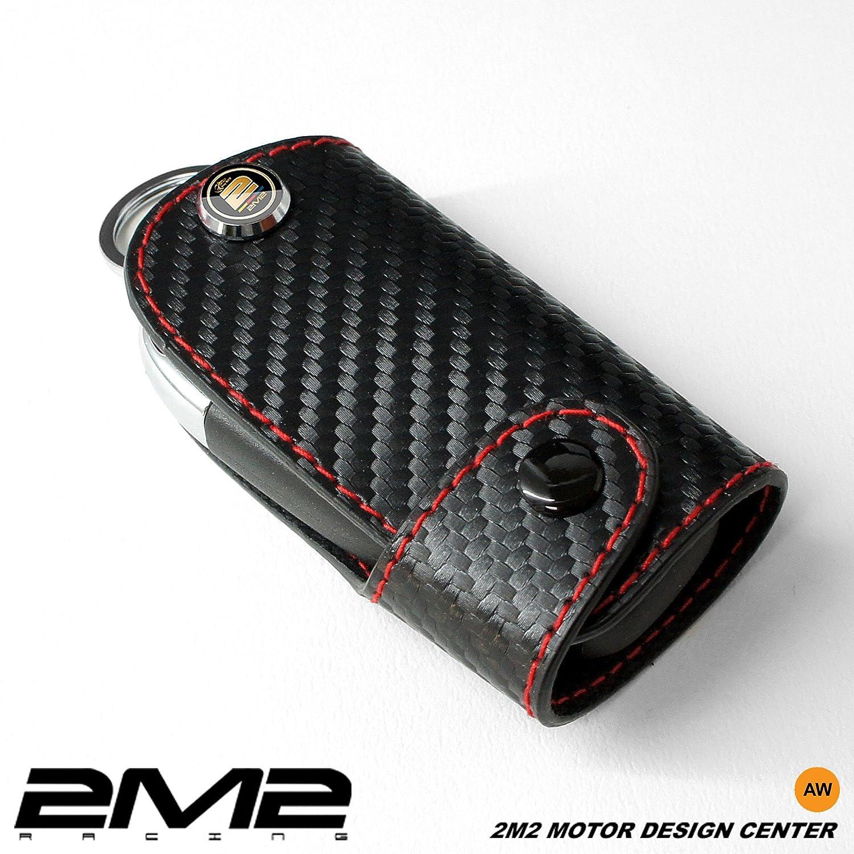 LMA02-5-B Leather key fob holder case chain cover For MAZDA2 MAZDA3 MAZDA5 MAZDA6 SPORTS MX-5 MIATA HARD TOP MAZDASPEED3 CX-9 CX-5 2M2