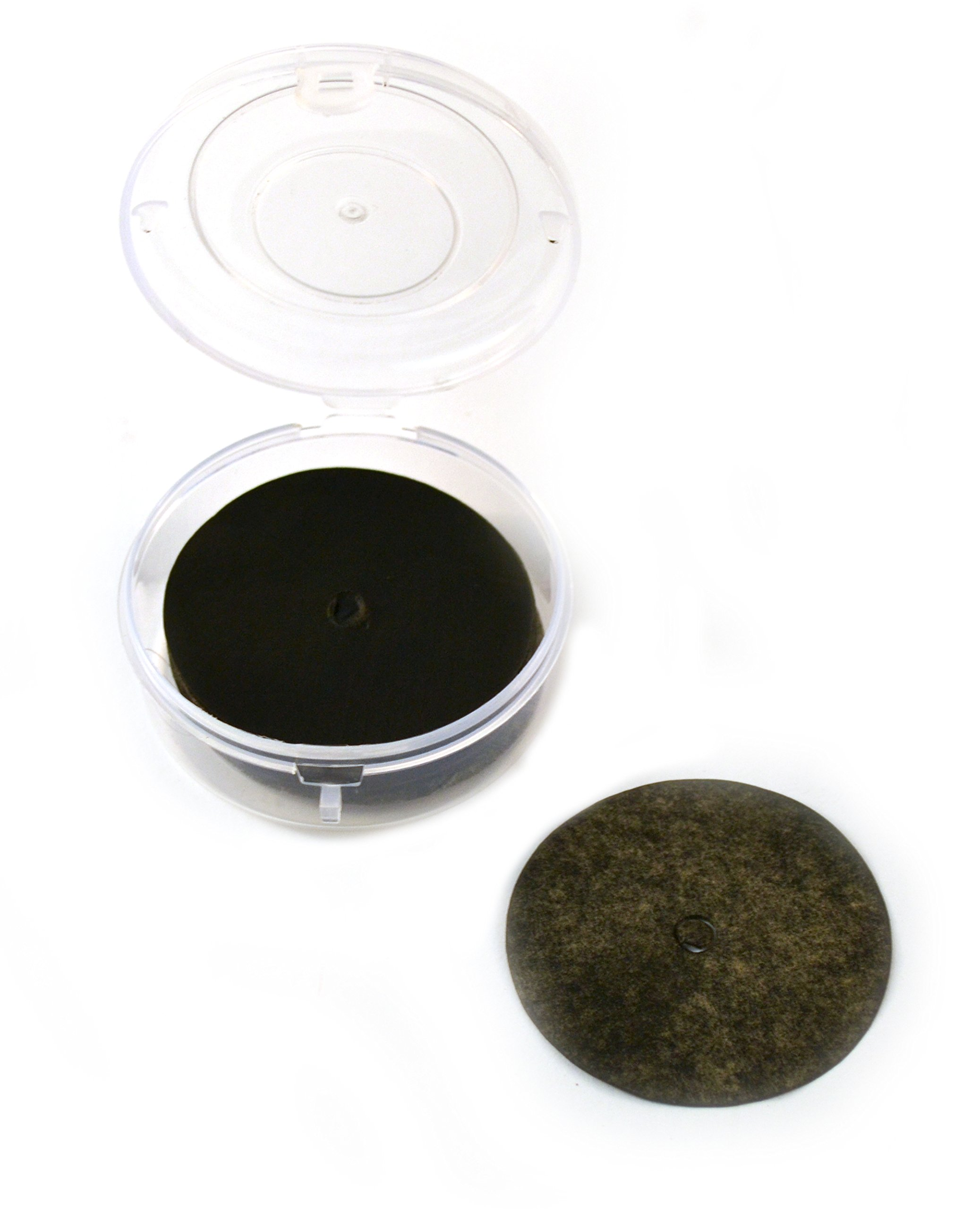 2'' (50mm) Dia Carbon Paper Discs Box Of 100 - Used For Ticker Timers