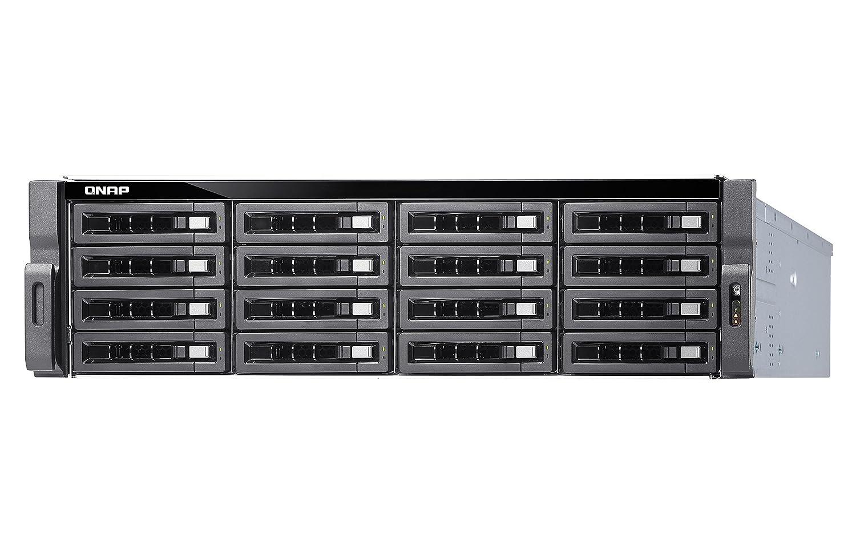 QNAP TS-1673U-RP-16G 16 Bay Rack-Geh/äuse mit 16GB RAM