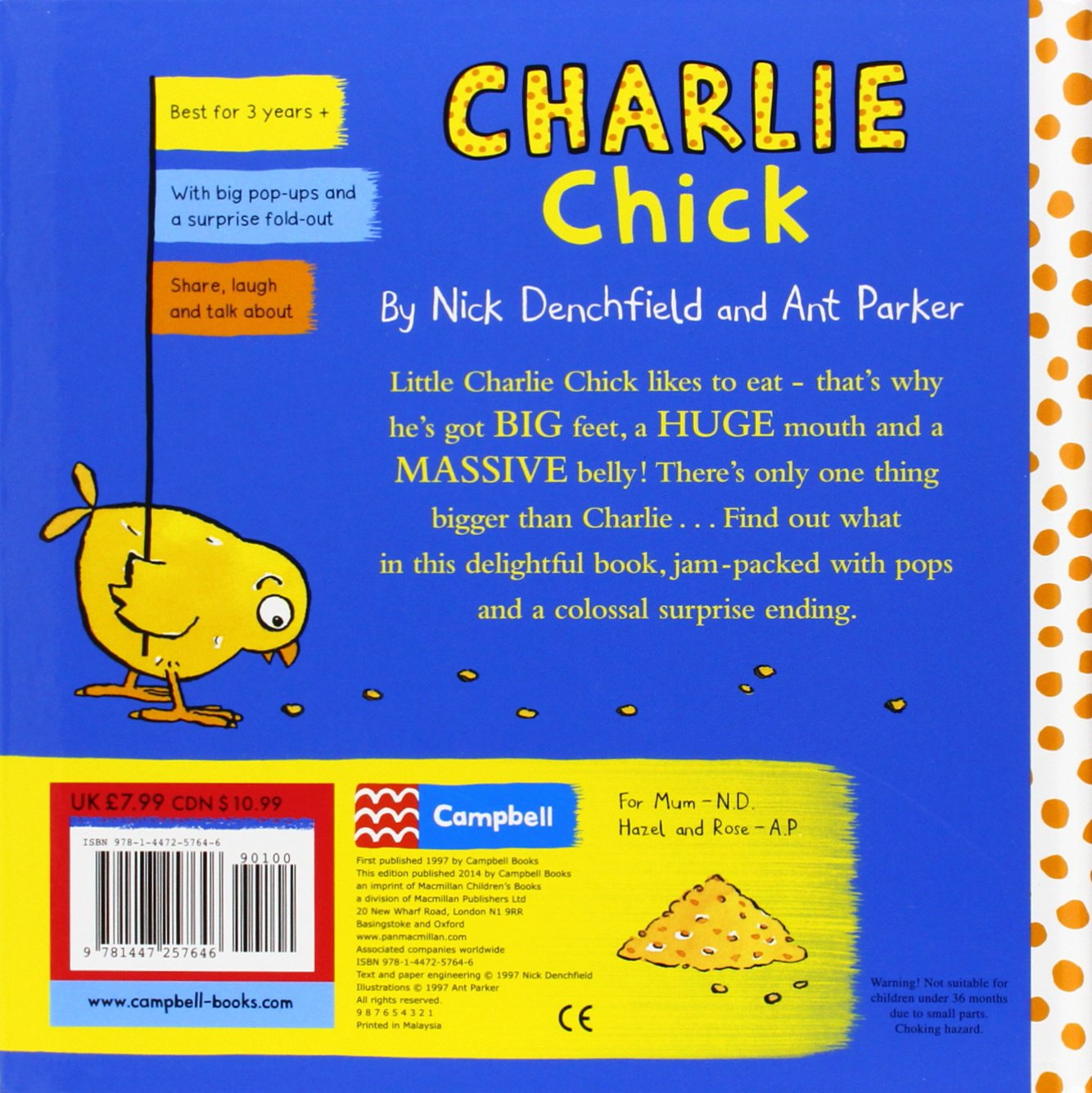 Charlie Chick: Charlie Chick series