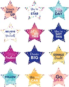 Laminated Motivational Positive Sayings for Classroom Bulletin Board Decorations and Classroom Decor