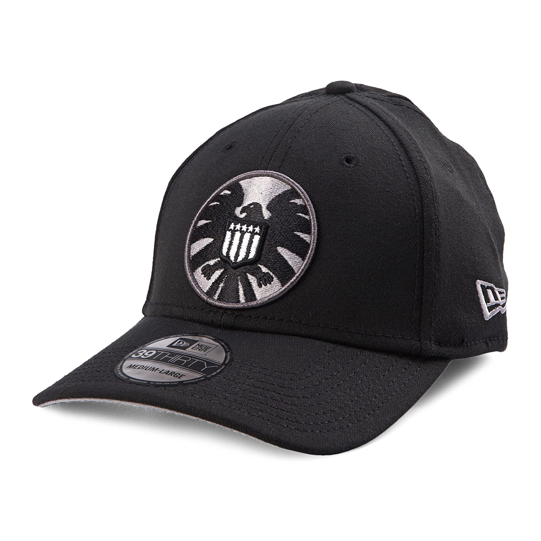 hot sale online ff14f 58002 Marvel Classic Shield Symbol Flexfit Baseball Cap  Amazon.co.uk  Clothing