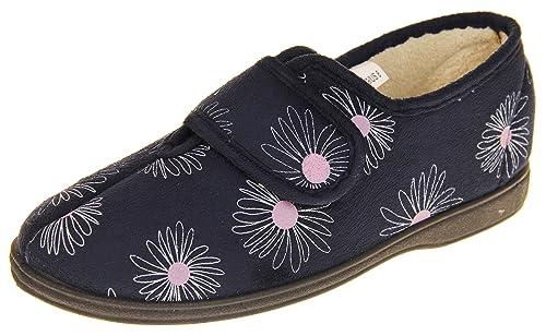 Footwear Studio Dunlop Mujer Gamuza Sintética Forro Cálido Textil Zapatillas: Amazon.es: Zapatos y complementos