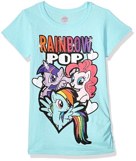 amazon com hasbro girls my little pony t shirt clothing