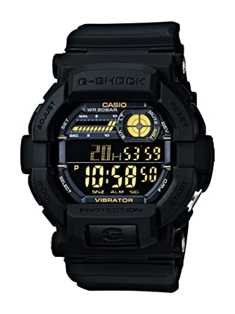8cc437cc2418 Buy Casio G-Shock Digital Black Dial Men's Watch - GD-350-1BDR (G441) Online  at Low Prices in India - Amazon.in