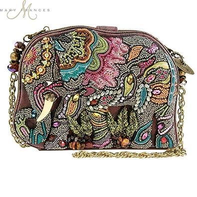 Mary Frances Elephant Dance Multi Color Beaded Evening Handbag  Handbags   Amazon.com 1a9de716dcb5e