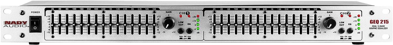 Nady A-B Box, equalizer, graphic (GEQ-215)