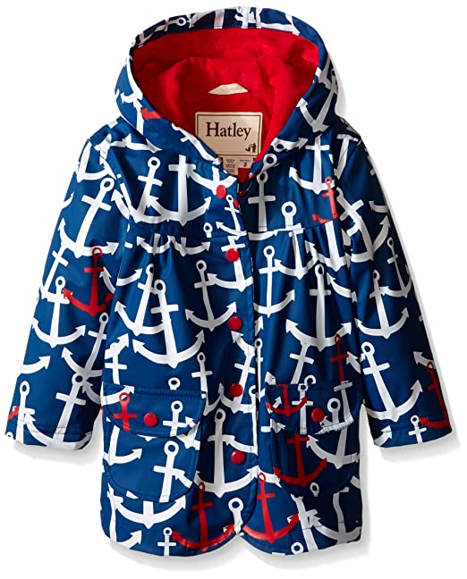 2cd40f754 Hatley Girl s Scattered Anchors Raincoat