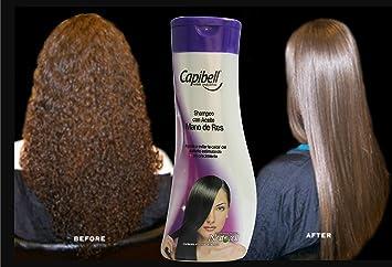 Capibell Shampoo Con Aceite De Mano De Res 430ml