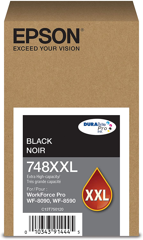 Epson DURABrite Pro T748XXL120 Ink Cartridge - Extra High Capacity Black