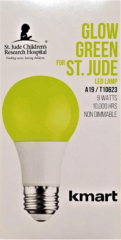 Amazon.com: St. Jude Childrens Research Hospital LED Glow Green Bulb: Home Improvement