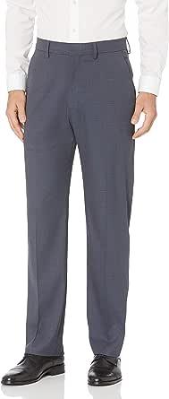 J.M. Haggar Mens HD00456 PLN Sharkskin Wpane Pant Casual Pants