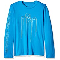Under Armour Electro Branded Boys Long Sleeve Shirt