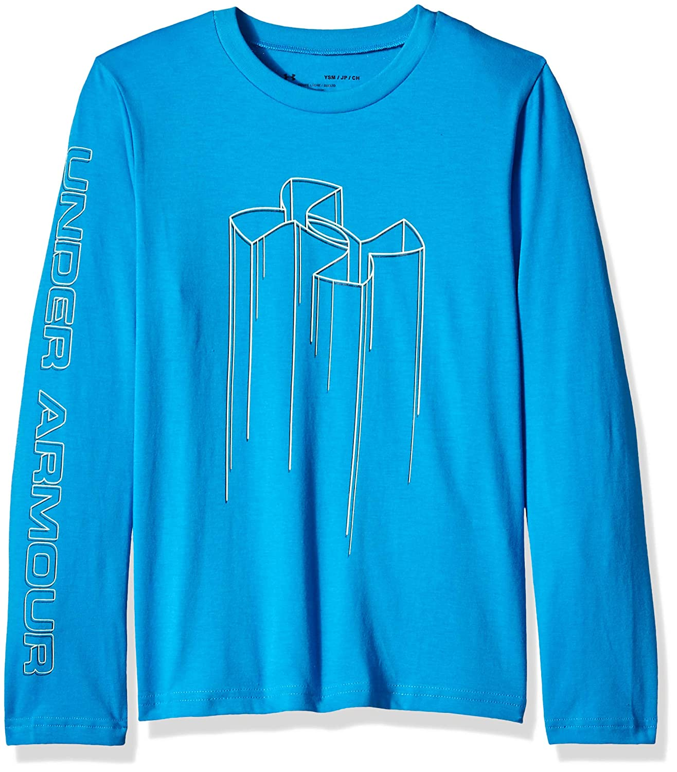 Under Armour Boys Electro Branded Long Sleeve Tee