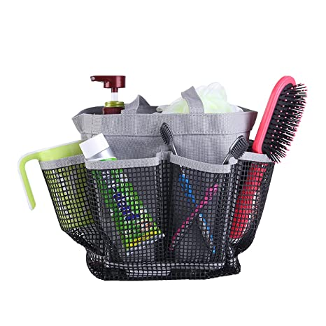06309f67b1b annbo livinn malla ducha caddy bolsa secado rápido ducha Tote bolsa para  colgar organizador de aseo
