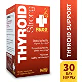 Redd Remedies - Thyroid Strong, Natural Support to Promote Healthy Mood and Metabolism, 60 Count
