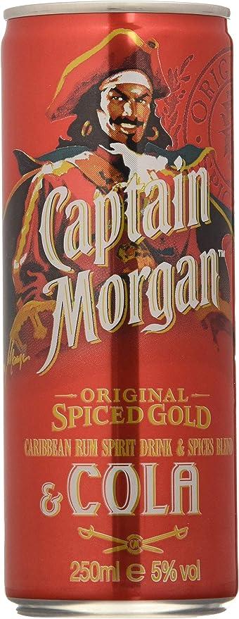 Captain Morgan Ron & Cola - 250 ml: Amazon.es ...