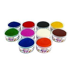 Colorations Best Value Dough - 10 lbs. (Item # TENDO), Multicolor