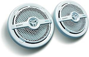 Sony XSMP1621 6 1/2-Inch coaxial 2-way Marine Speaker,White