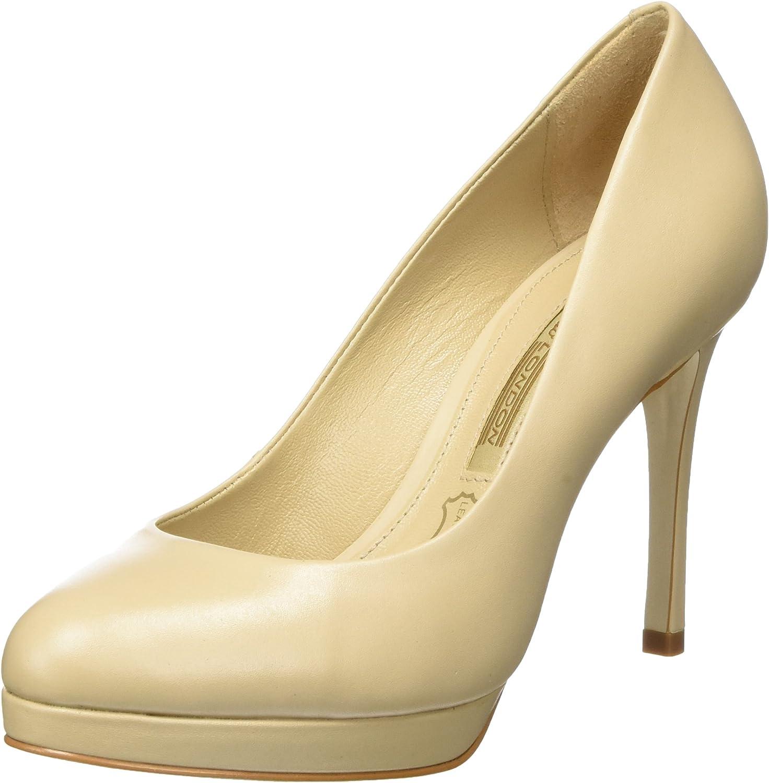 Buffalo London Zs 7906-16 Semi Cromo, Zapatos de Tacón para Mujer