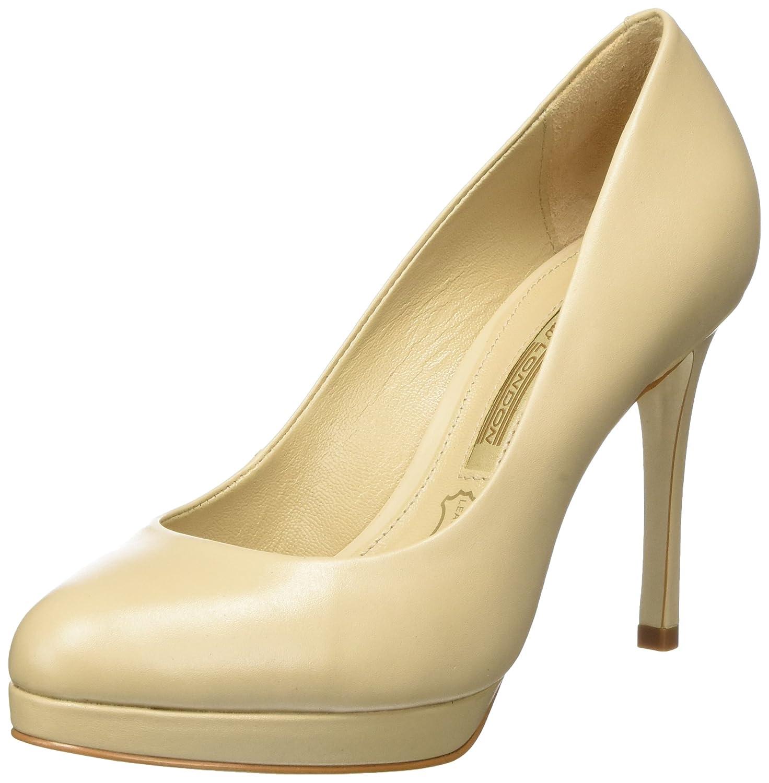 TALLA 39 EU. Buffalo London Zs 7906-16 Semi Cromo, Zapatos de Tacón para Mujer