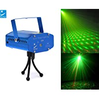 Big Deeper Mini Laser Projector With Sound Activation Control for Diwali, Christmas and Festive Decoration