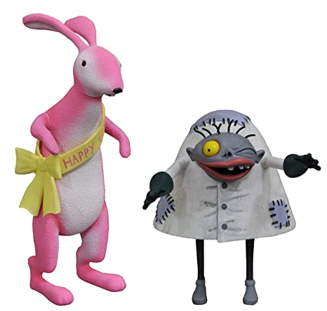 Картинки по запросу The Nightmare Before Christmas Select Series 5 easter bunny and igor figure