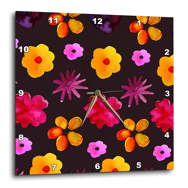 Amazon Com 3drose Sven Herkenrath Art Lovely Floral Pattern On