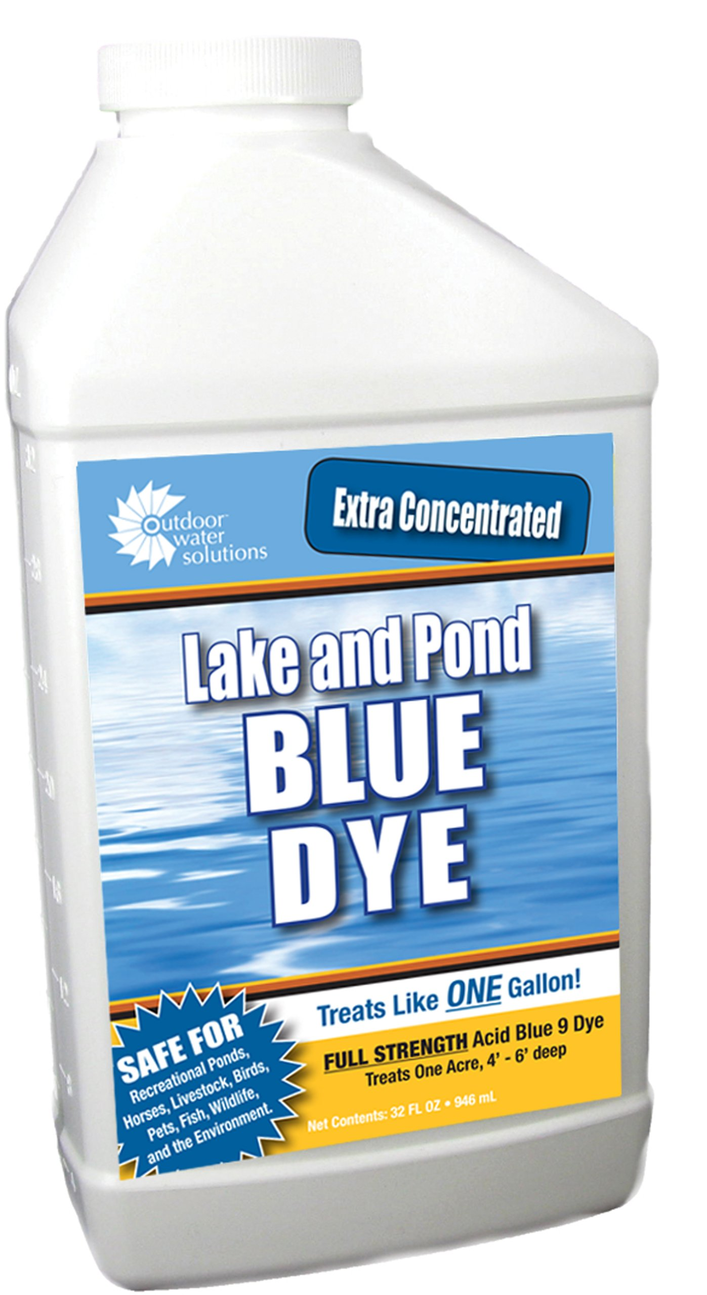 Outdoor Water Solutions PSP0125 Lake and Pond Dye, Blue