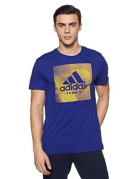 adidas Category Ten M Camiseta de Tenis, Hombre: Amazon.es: Ropa y ...
