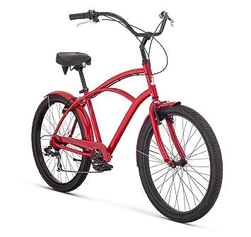 Raleigh Bikes Retroglide 7 Men S Cruiser Bike 26
