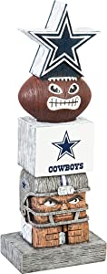 Team Sports America NFL Dallas Cowboys 12 Inch Tiki Totem