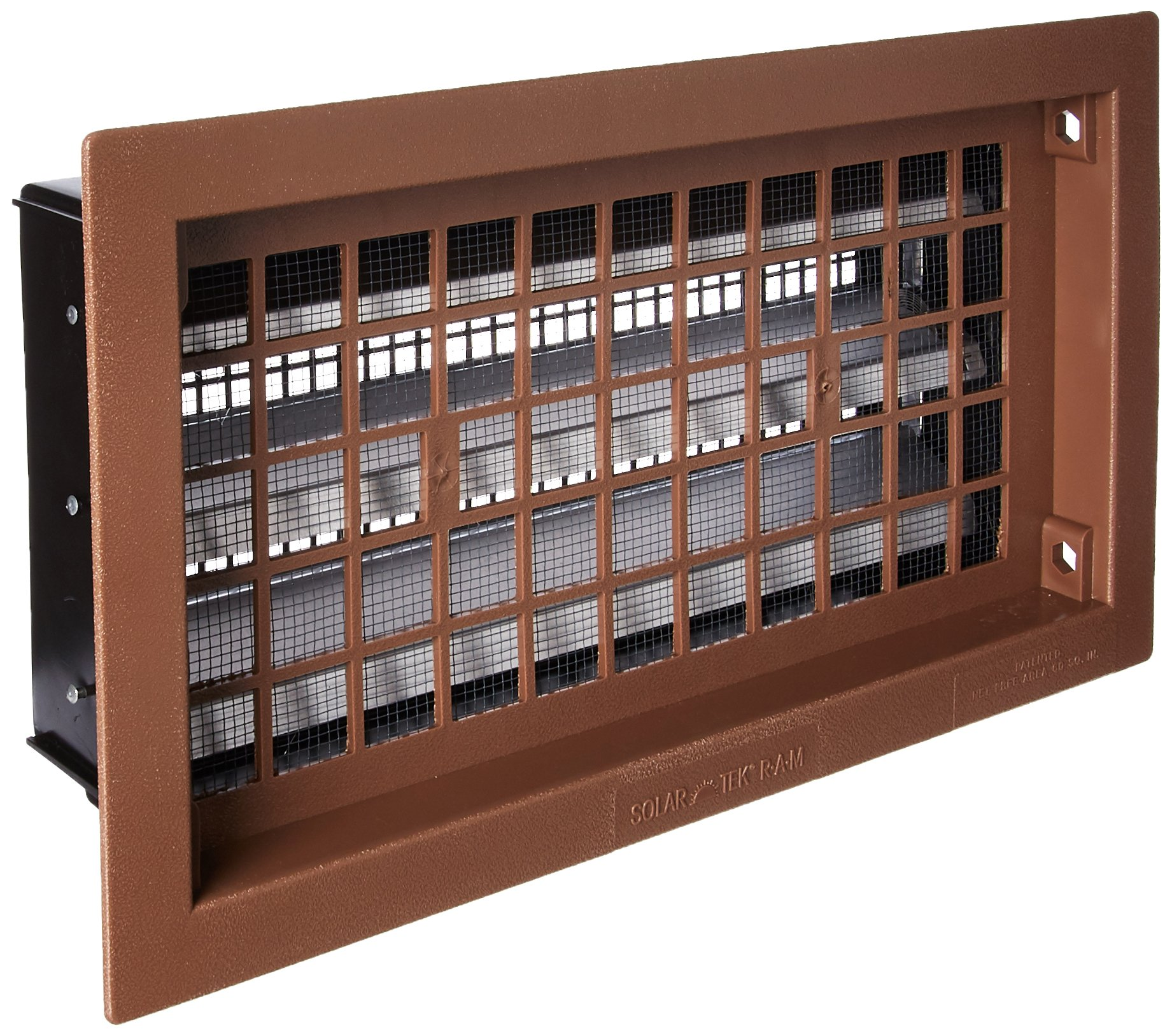 """Air Vent RABR Heavy-Duty Automatic Foundation Vent, Brown, 50"""", 1-Qty"""