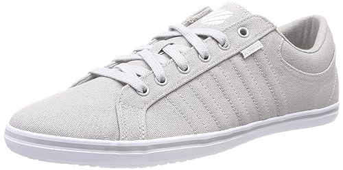 K-Swiss HOF IV T VNZ, Sneaker Uomo, Grigio (Gull Gray/White/White 024), 44 EU