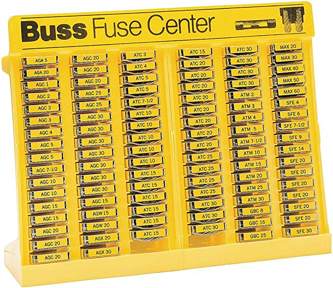 Connect Assorted Auto Fuses-Glass /& Ceramic Box of 480-31859