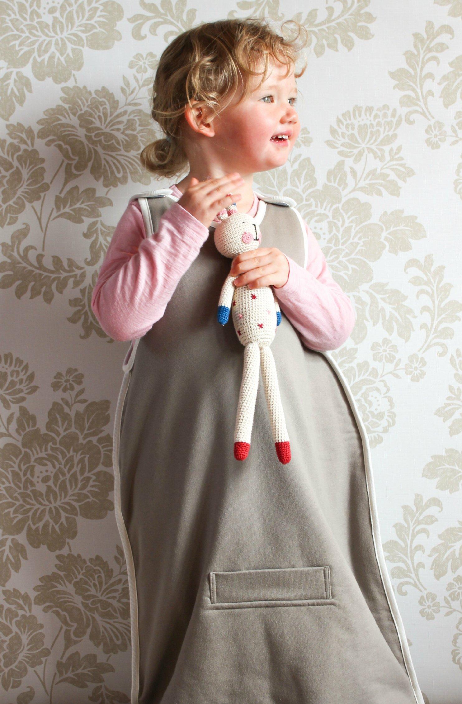 STANDARD MERINO Baby Sleep Sack / 3 SEASON MERINO Sleep Bag, 0-2 yrs, Oatmeal