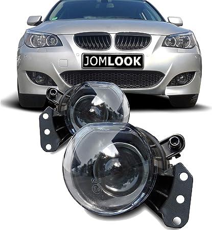 Jom Car Parts Car Hifi Gmbh 82331 Nebelscheinwerfer Klarglas Mit Projektor Linse Auto