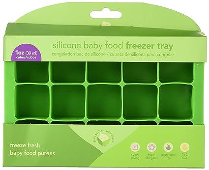 iPlay Inc., Brotes Verdes, Congelador Bandeja Silicona de Alimentación del bebé