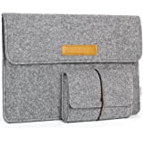 JSVER 13 Inch Laptop Sleeve Felt Protective Case for MacBook Air/ Pro Retina, Ultrabook