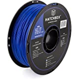 HATCHBOX ABS 3D Printer Filament, Dimensional Accuracy +/- 0.03 mm, 1 kg Spool, 1.75 mm, Blue