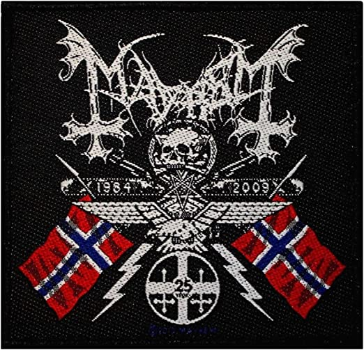 Mayhem Coat Of Arms Patch Sew On Official Badge Band Jacket