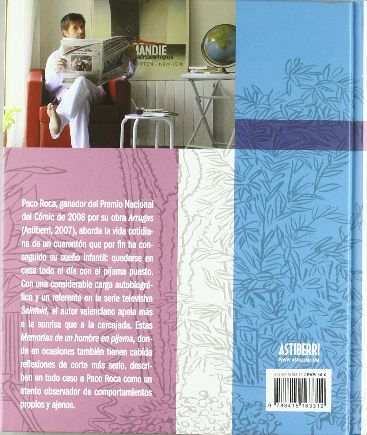 Memorias de un hombre en pijama / Memoirs of a man in pajamas (Spanish Edition): Paco Roca: 9788415163312: Amazon.com: Books